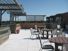 Sixth Floor roof top patio