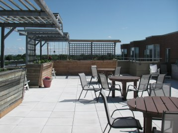 Sixth Floor roof top patio